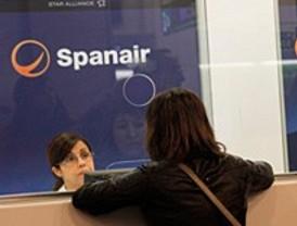 Aena devuelve las tasas a los pasajeros de Spanair que pidieron 'tarifa rescate'