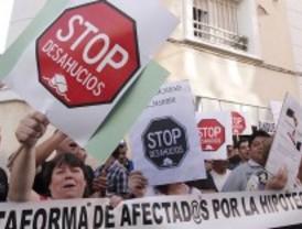 La Plataforma de Afectados por la Hipoteca pide a la Justicia el fin de los desahucios