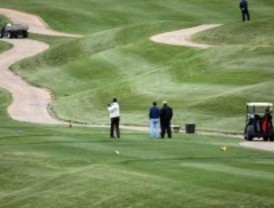 La huelga general llena los campos de golf de Madrid
