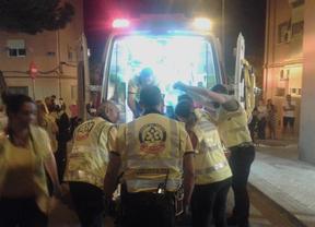 Herido grave al caer desde un cuarto piso cuando trataba de acceder a una vivienda en Vallecas