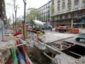 Siguen las obras de reasfaltado en Serrano y comienzan en otras cuatro calles