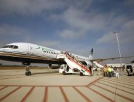 Los vuelos a Lleida, cancelados por falta de clientes