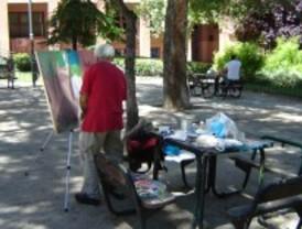 Coslada celebra el certamen de pintura rápida 'Villa de Coslada'