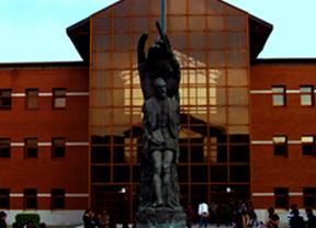 Patio central del Campus de Vicálvaro
