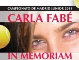 Campeonato de tenis junior en memoria de Carla Fabé