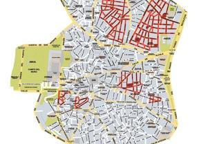 Calles de contaminación acústica alta