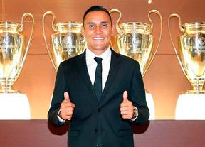 El Real Madrid presenta a Keylor Navas