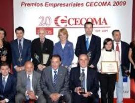 Almudena Cid, Ignacio González y José Luis Garci, premios CECOMA 2009