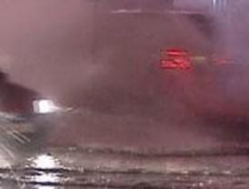 Los bomberos realizan medio centenar de intervenciones por las fuertes lluvias