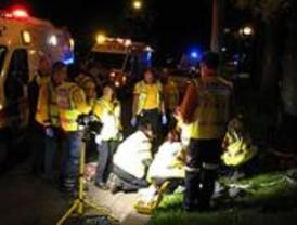 Fallece un joven de 21 años en un accidente de moto en la Castellana