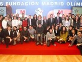 La Fundación Madrid Olímpico entrega sus becas a 50 deportistas madrileños