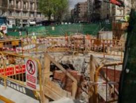 Un carril de la calle de Jorge Juan estará cortado durante el próximo mes