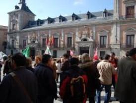 Protesta de funcionarios de la Comunidad y el Ayuntamiento de Madrid