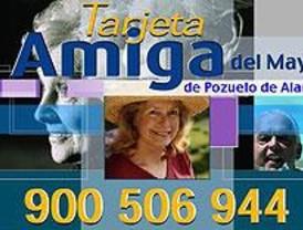 Una tarjeta facilita ayuda e información a los mayores de Pozuelo de Alarcón