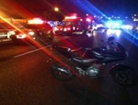 Dos hombres han resultado heridos de gravedad en sendos accidentes de moto esta madrugada