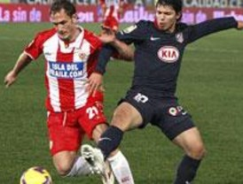 El Atlético, a un empate de la 'Champions'