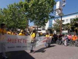 'Mani-bici' en Getafe por una movilidad sostenible