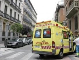 Un conductor, herido grave tras salirse de la M-45 a la altura de Getafe