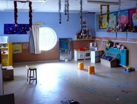 Menos espacio para los niños de las guarderías