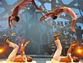 'Madre África', la fuerza del circo sin artificios