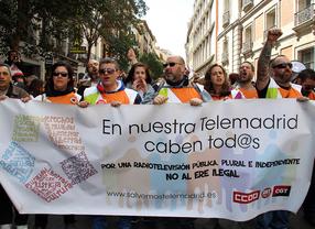 PSM, IUCM y Podemos pactan reincorporar a los despedidos de Telemadrid