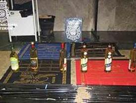 Cuatro detenidos al intentar introducir 30 kilos de cocaína en Barajas