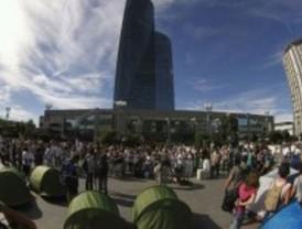 Unas 150 personas 'acampan' en La Paz