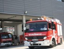 Las tromba de agua obligó a los bomberos a efectuar 130 salidas