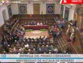 Juan Gelman recibe el Premio Cervantes 2007