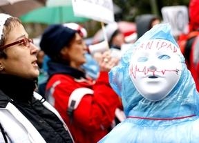 Protesta en defensa de la sanidad pública (19 de enero)