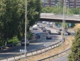 Mucha tranquilidad y poco tráfico en Madrid