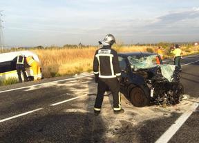 Fallecen dos personas al ser arrolladas cuando cruzaban la A-3 en Fuentidueña de Tajo