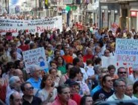 Cientos de personas se concentran en Callao por la sanidad pública