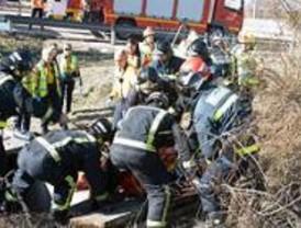 Herida una mujer de 61 años al caer a un foso de cuatro metros de profundidad