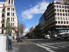 Serrano, más peatonal a costa del aparcamiento