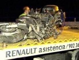 Muere un motociclista al salirse de la vía en El Molar