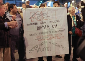 Sol protesta contra la pobreza energética