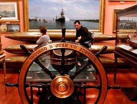 El Museo Naval, a toda vela