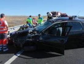 Una herida grave y otro leve en un accidente en la M-503