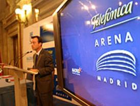El Madrid Arena de Madrid Espacios y Congresos se llama desde este martes Telefónica Arena Madrid
