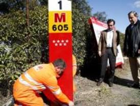 La carretera de El Pardo estrena las señales 'Vía M'