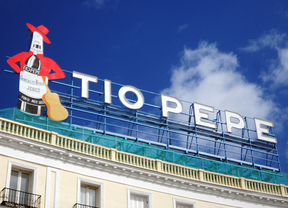 El cartel de Tío Pepe regresa a Sol