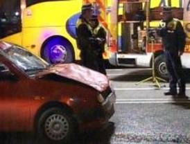 Tres heridos en un atropello en Madrid