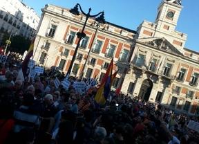 Manifestación en Sol para pedir la dimisión del Gobierno