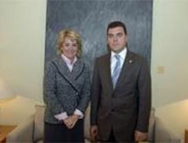 El alcalde de Leganés presenta 50 proyectos a Aguirre