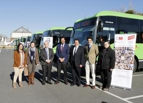 La línea 621 de Las Rozas estrena autobuses