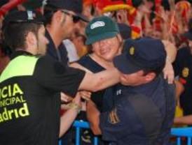 49 personas atendidas por el Samur durante la recepción a la Selección en Colón
