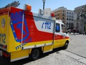 Muere un motorista tras colisionar contra un coche en la M-103, en Talamanca del Jarama
