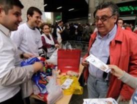 La Operación Kilo logra recaudar 3.000 kilos de comida para alimentar a 30.000 personas