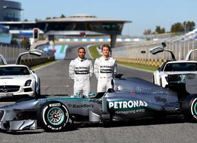 Los nuevos Mercedes rodarán en Jerez los primeros días de febrero